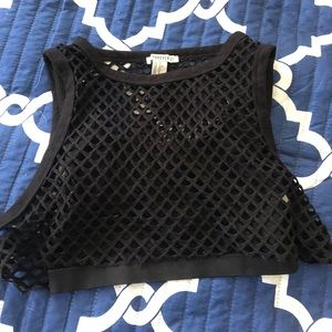 Forever 21 athletic crop top